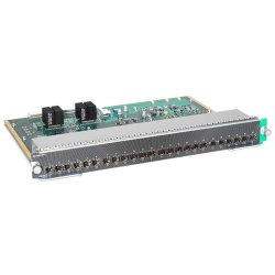 Cisco - WS-X4624-SFP-E= - Cisco 24-Port SFP Line Card - 24 x SFP (mini-GBIC)