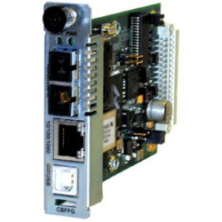 Transition Networks - CBFFG1013-115 - Transition Networks Point System CBFFG1013-115 Gigabit Ethernet Media Converter - 1 x RJ-45 , 1 x SC - 10/100/1000Base-T - Internal