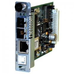 Transition Networks - CBFFG1014-105 - Transition Networks Point System CBFFG1014-105 Gigabit Ethernet Media Converter - 1 x RJ-45 , 1 x SC - 10/100/1000Base-T, 1000Base-LX - Internal