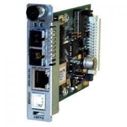 Transition Networks - CBFFG1040-105 - Transition Networks Point System CBFFG1040-105 Gigabit Ethernet Media Converter - 1 x RJ-45 - 10/100/1000Base-T, 1000Base-X - 1 x SFP (mini-GBIC) - Internal