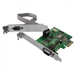 SIIG - JJ-E10D11-S3 - SIIG CyberSerial 2-port PCI Express Serial Adapter - 2 x 9-pin DB-9 RS-232 Serial