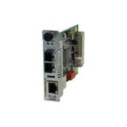 Transition Networks - CGFEB1017-120 - Transition Networks Point System Slide-In-Module Media Converter - 1 x RJ-45 , 1 x SC - 10/100/1000Base-T, 1000Base-LX