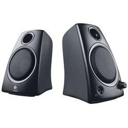 Logitech - 980-000417 - Logitech Z130 2.0 Speaker System - 5 W RMS - Desktop - Black