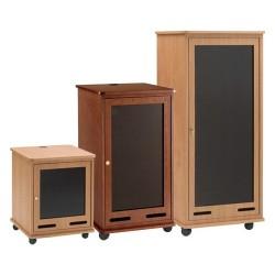 Da-Lite - 98220LOV - Da-Lite Rack Cabinet - 12U Wide - Light Oak Veneer
