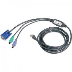 Avocent - PS2IAC-7 - Avocent PS/2 Cat. 5 Integrated Access Cable - 7ft