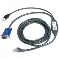 Avocent - USBIAC-7 - Avocent USB Cat. 5 Integrated Access Cable - 7ft