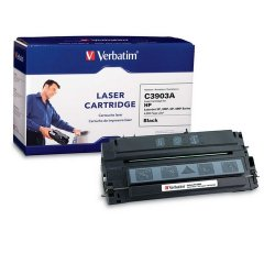 Verbatim / Smartdisk - 93172 - Verbatim Remanufactured Laser Toner Cartridge alternative for HP C3903A - Black - Laser - 4000 Page - 1 / Pack - Retail