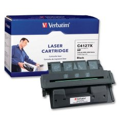 Verbatim / Smartdisk - 93476 - Verbatim High Yield Remanufactured Laser Toner Cartridge alternative for HP C4127X - Black - Laser - 10000 Page - 1 / Each - Retail