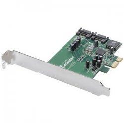 Adaptec - 2255900-R - Adaptec 1220SA 2 Port Serial ATA RAID Controller - PCI Express x1 - Up to 300MBps - 2 x 7-pin Serial ATA/300 - Serial ATA Internal