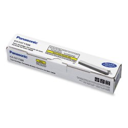 Panasonic - KX-FATY508 - Panasonic Yellow Toner Cartridge - Laser - 4000 Page - 1 Each