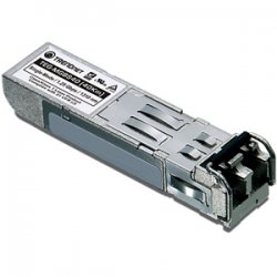 TRENDnet - TEG-MGBS40 - TRENDnet TEG-MGBS40 Mini-GBIC Single-Mode LC Module - 1 x 1000Base-LX