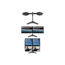 "Planar Systems - 997-6504-00 - Planar TS732 Monitor Stand - Up to 32"" Screen Support - 52 lb Load Capacity36.4"" Width x 12.1"" Depth - Black"