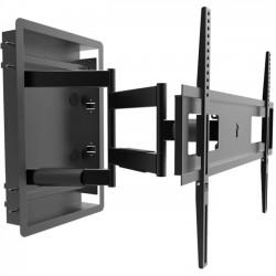Kanto AV Systems - R500 - Kanto Wall Mount for TV - 80 Screen Support - 135 lb Load Capacity