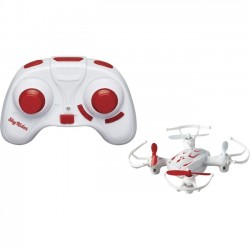 GPX - DR177R - SkyRider Mini Quadcopter Drone with LEDs - DR177R - 2.40 GHz - Battery Powered - 0.10 Hour Run Time - 65 ft Operating Range - 4 Channel