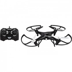 GPX - DRC377B - SkyRider Falcon 2 Pro: Quadcopter Drone with Video Camera - DRC377B - 2.40 GHz - Battery Powered - 0.13 Hour Run Time - 150 ft Operating Range - 4 Channel - Wi-Fi