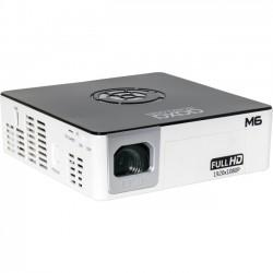 AAXA Technologies - MP-600-01 - AAXA Technologies M6 LED Projector - 1080p - HDTV - 16:9 - Front - LED - 30000 Hour Normal Mode - 1920 x 1080 - Full HD - 2,000:1 - 1200 lm - HDMI - USB - 75 W