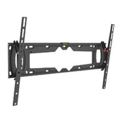 Barkan - E410+.B - Barkan E410+ Wall Mount for TV - 90 Screen Support - 132 lb Load Capacity - Metallic Black