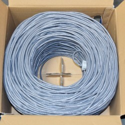 Premiertek.net - CAT6-BC-1KFT-GY - Premiertek Cat6 Bulk Bare Copper Network Cable 1000ft (Gray) - Category 6 for Network Device - 125 MB/s - 1000 ft - Bare Wire - Bare Wire - Gray