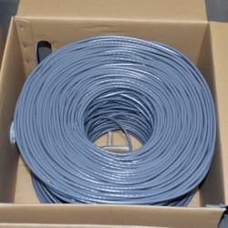Premiertek.net - CAT6-CCA-1KFT-GY - Premiertek Cat6 Bulk Cable 1000ft (Gray) - Category 6 for Network Device - 125 MB/s - 1000 ft - Bare Wire - Bare Wire - Gray