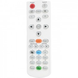 Optoma - SP.72702GC01 - Optoma Remote Control w/ Laser & Mouse Function - For Projector