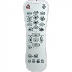 Optoma - SP.8ZE01GC01 - Optoma Backlit Remote Control - For Projector