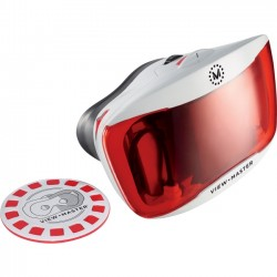 Mattel - DTH61 - Mattel View-Master Deluxe VR Viewer Viewer - Surround Yourself with Stunning 360 Degree Environments - Headphone Connector - Works with Google Cardboard