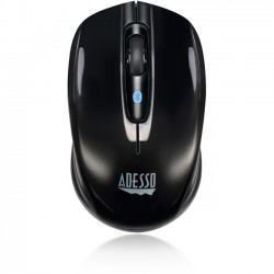Adesso / ADS Technologies - IMOUSE S100B - Adesso iMouse S100B - Bluetooth Mini Mouse - Optical - Wireless - Bluetooth - 1200 dpi - Notebook - Scroll Wheel - 3 Button(s) - Symmetrical