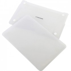 Tucano - HSNI-MBR15-TR - Tucano Nido Hard-Shell Case MacBook Pro 15.6 Retina - MacBook Pro (Retina Display) - Clear - Smooth Textured, Tucano Milano Italy Logo - Rubberized - Polycarbonate