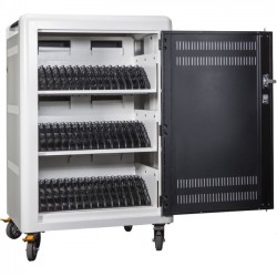 Anywhere Cart - AC45 - Anywhere Cart 45 Bay Cart - 4 Casters - 4 Caster Size - Metal - 30 Width x 23.6 Depth x 44.5 Height - For 45 Devices