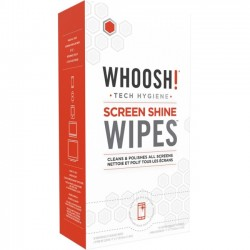 Whoosh - 1FGWP30CT - Whoosh. Screen Shine Wipes 30 Pack - For Display Screen - Non-toxic, Odorless, Alcohol-free, Ammonia-free