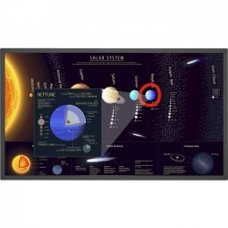 NEC - E651-T - NEC Display 65 Large Format Touch Display - 65 LCD - 1920 x 1080 - Direct LED - 400 Nit - 1080p - HDMI - USB