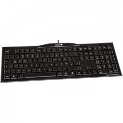 Cherry - G80-3850LYDEU-2 - Cherry MX-Board 3.0 Keyboard - Cable Connectivity - USB Interface - 104 Key - English (US), International - Windows Lock Key Hot Key(s) - Mechanical - Black