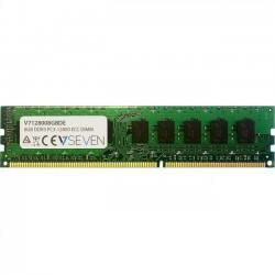 V7 - V7128008GBDE - V7 8GB DDR3 SDRAM Memory Module - 8 GB (1 x 8 GB) - DDR3 SDRAM - 1600 MHz DDR3-1600/PC3-12800 - 1.50 V - Non-ECC - Unbuffered - 240-pin - DIMM