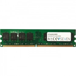 V7 - V764002GBD - V7 2GB DDR2 PC2-6400 800Mhz DIMM Desktop Memory Module - V764002GBD - 2 GB (1 x 2 GB) - DDR2 SDRAM - 800 MHz DDR2-800/PC2-6400 - Unbuffered - 240-pin - DIMM