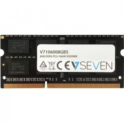 V7 - V7106008GBS - V7 8GB DDR3 PC3-10600 - 1333mhz SO DIMM Notebook Memory Module - V7106008GBS - 8 GB - DDR3 SDRAM - 1333 MHz DDR3-1333/PC3-10600 - Unbuffered - 204-pin - SoDIMM