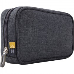 Case Logic - BCC2ANTHRACITE - Case Logic Berkeley BCC-2 Carrying Case for Charger - Gray - Polyester - 4.1 Height x 6.3 Width x 1.6 Depth