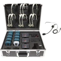 Califone - WS-TG10 - Califone 10 Person Tour Group System