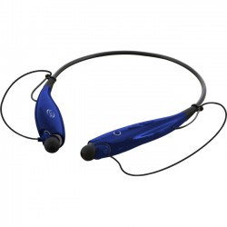 GPX - IAEB25BU - iLive Wireless Stereo Headset - Stereo - Blue - Wireless - Bluetooth - 33 ft - 32 Ohm - 20 Hz - 20 kHz - Earbud, Behind-the-neck - Binaural - In-ear