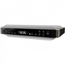 GPX - IKBC384S - iLive Bluetooth Under Cabinet Music System IKBC384S - CD-RW - CD-DA Playback - 1 Disc(s) - Silver