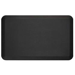 Ergoguys - 104-01-2032-1 - Newlife Eco Pro Anti Fatigue Mat, Black, 20x32 - Floor - 32 Length x 20 Width x 0.75 Thickness - Rectangle - Brushed Texture Design - Polyurethane Foam, Bio-Foam - Black