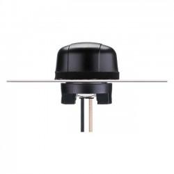 Taoglas - MA130.A.LP.002 - Taoglas Hercules Antenna - Range - UHF - 1.57 GHz to 868 MHz, 1.61 GHz - 27 dB - GPS, GLONASSScrew Mount - Omni-directional - SMA Connector