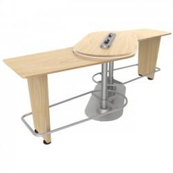 Ergoguys - IM-PIVOTNM-01 - Ergoguys InMovement Pivot Table, Natural Maple - 42.50 Height x 48 Width - Natural Maple