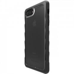 Gumdrop Cases - DT-PH7P-BLK_SM - Gumdrop iPhone 7 Plus Case - DropTech Series - iPhone 7 Plus - Black, Smoke - Silicone, Polycarbonate - 72 Drop Height