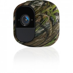 Netgear - VMA4200-10000S - Arlo Pro Skins - Set of 3 Camouflage Skins (VMA4200) - Security Camera - Camouflage, Green - Silicone