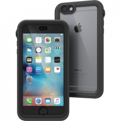 Catalyst Lifestyle - CAT-IPHO6SP-BLK - Catalyst Carrying Case for iPhone 6 Plus, iPhone 6S Plus - Black, Gray - Impact Resistant, Water Proof, Drop Proof - Polycarbonate