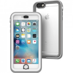Catalyst Lifestyle - CAT-IPHO6SP-WHT - Catalyst Carrying Case for iPhone 6 Plus, iPhone 6S Plus - White, Light Gray - Impact Resistant, Water Proof, Drop Proof - Polycarbonate