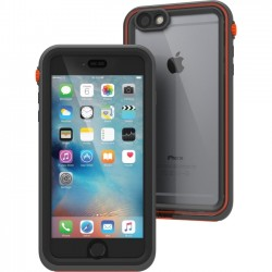 Catalyst Lifestyle - CATIPHO6SPRES - Catalyst Carrying Case for iPhone 6 Plus, iPhone 6S Plus - Gray, Black, Orange - Impact Resistant, Water Proof, Drop Proof - Polycarbonate