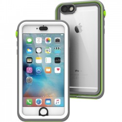 Catalyst Lifestyle - CATIPHO6SPGRE - Catalyst Carrying Case for iPhone 6 Plus, iPhone 6S Plus - White, Light Gray, Green - Impact Resistant, Water Proof, Drop Proof - Polycarbonate