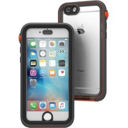Catalyst Lifestyle - CATIPHO6SRES - Catalyst Carrying Case for iPhone 6, iPhone 6S - Gray, Black, Orange - Impact Resistant, Water Proof, Drop Proof - Polycarbonate