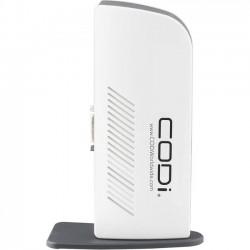 Codi - A01048 - Codi Port Replicator - for Notebook/Desktop PC - Proprietary - 7 x Total USB Ports - 4 x USB 2.0 Ports - 3 x USB 3.0 Ports - Network (RJ-45) - HDMI - DVI - Headphone - Microphone